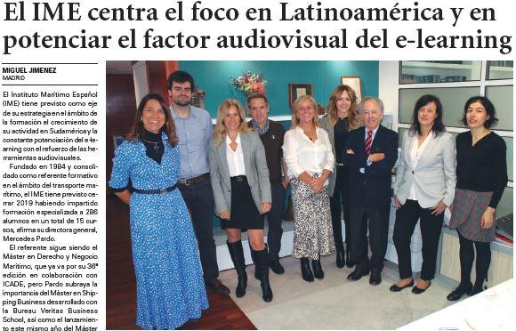 Artículo sobre IME en El Diario del Puerto