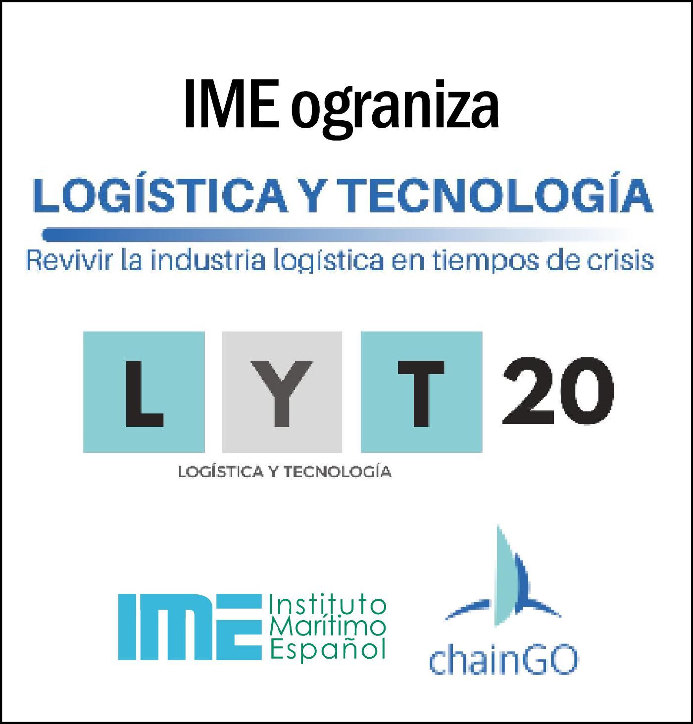 IME organiza el evento de referencia en Logística y Tecnología (30/9/20)