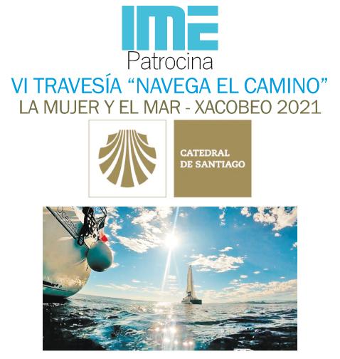 IME patrocina el Camino de Santiago por mar