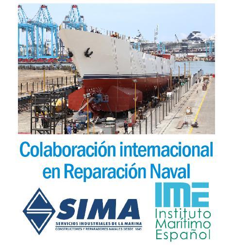 Colaboración internacional en reparación naval